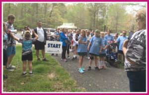 MD WALKERS AT START